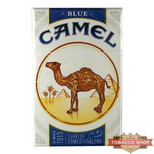 Пачка сигарет Camel Blue USA