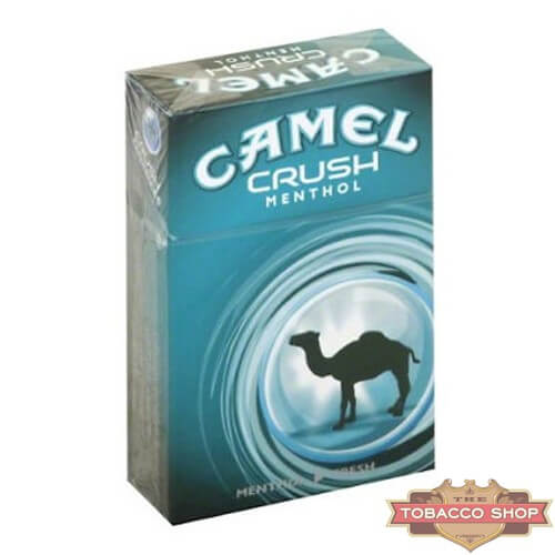 Пачка сигарет Camel Crush Menthol USA