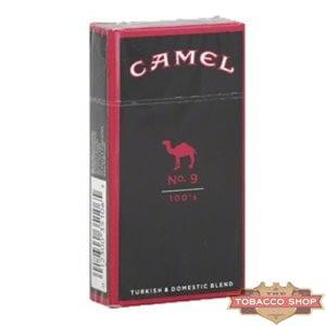 Пачка сигарет Camel No. 9 100's USA