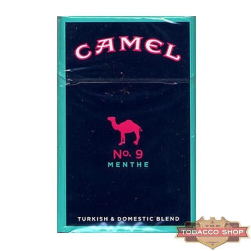 Пачка сигарет Camel No. 9 Menthe USA