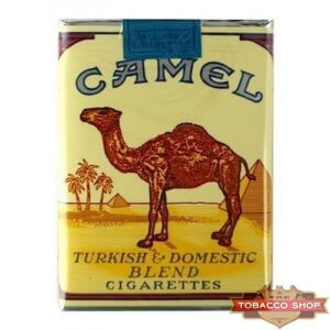 Пачка сигарет Camel Non-filter Soft USA