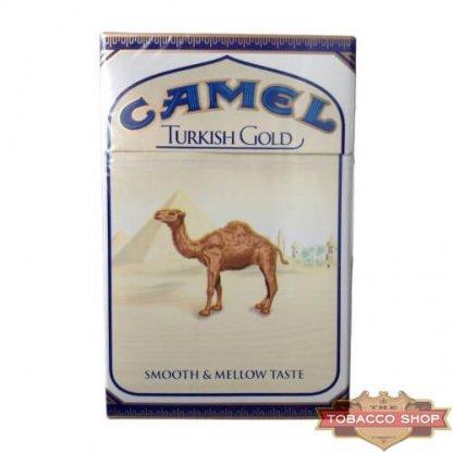 Пачка сигарет Camel Turkish Gold USA