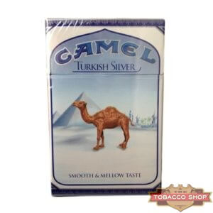 Пачка сигарет Camel Turkish Silver USA