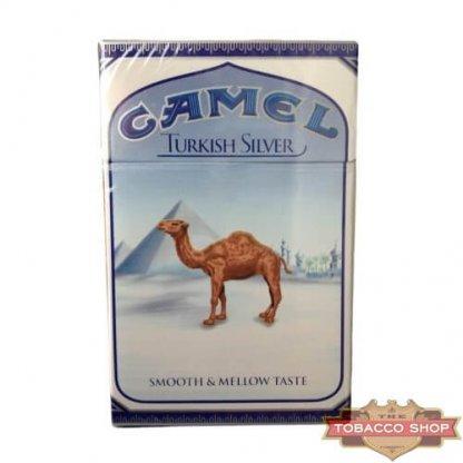 Пачка сигарет Camel Turkish Silver USA