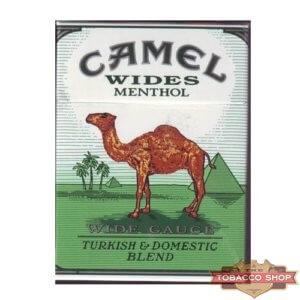 Пачка сигарет Camel Wides Menthol USA