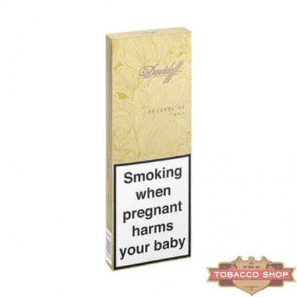 Блок сигарет Davidoff SuperSlims Gold Duty Free