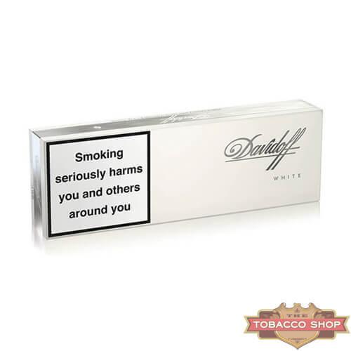 Блок сигарет Davidoff White Duty Free