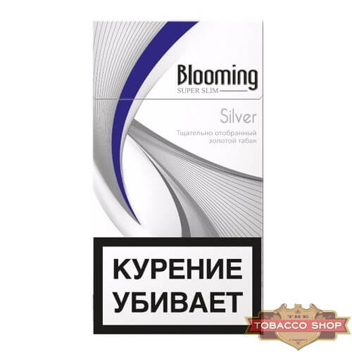 Пачка сигарет ESSE Blooming Silver