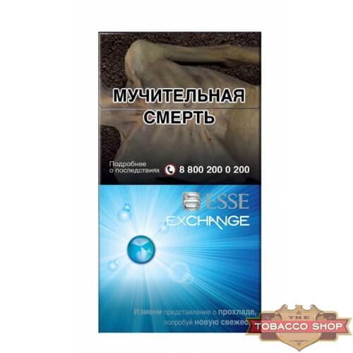 Пачка сигарет ESSE Exchange