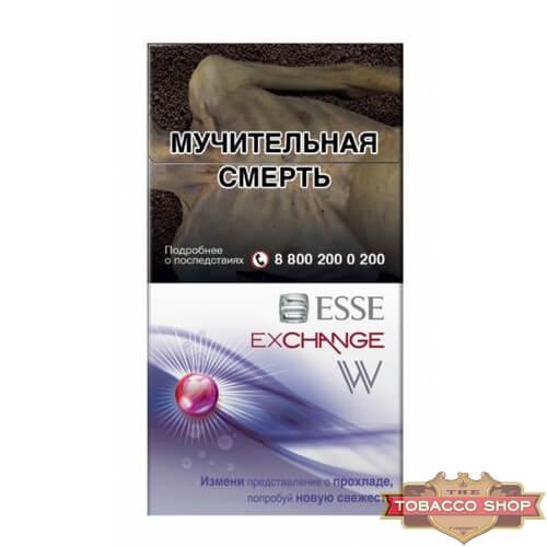 Пачка сигарет ESSE Exchange W