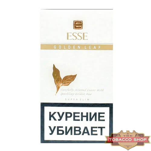 Пачка сигарет ESSE Golden Leaf White