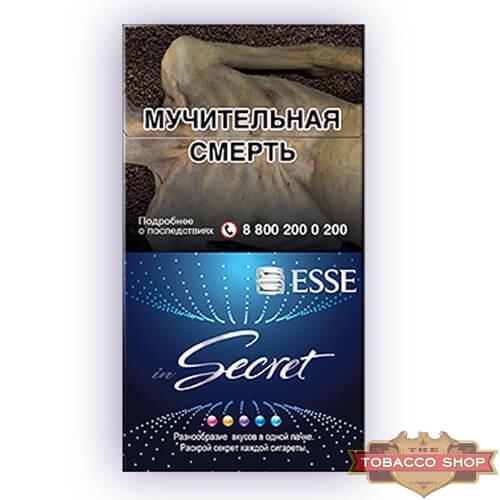 Пачка сигарет ESSE inSecret