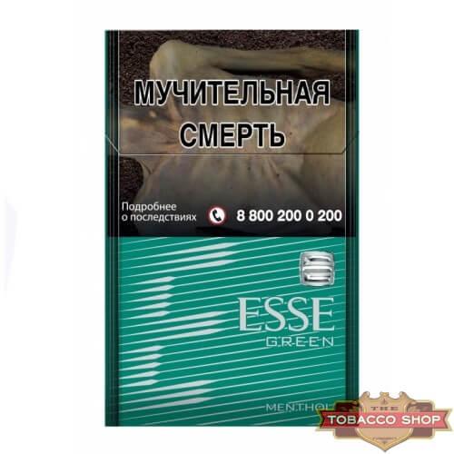 Пачка сигарет ESSE Menthol Compact