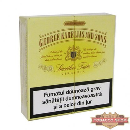 Пачка сигарет George Karelias and Sons Smoother Taste (1 пачка) Duty Free