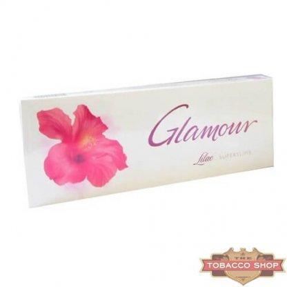 Блок сигарет Glamour SuperSlims Lilac Duty Free