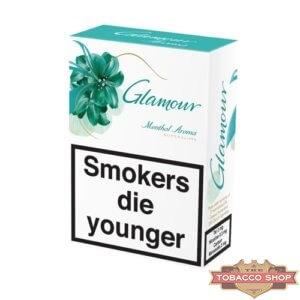 Блок сигарет Glamour SuperSlims Menthol Aroma Duty Free