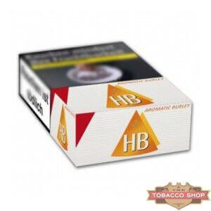 Пачка сигарет HB Aromatic Burley Duty Free