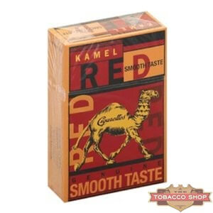 Пачка сигарет Kamel Red Smooth Taste USA
