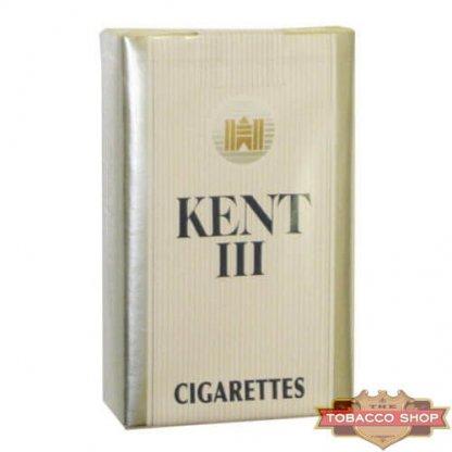 Пачка сигарет KENT III Silver Kings Soft USA