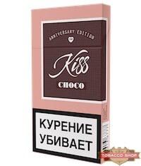 Пачка сигарет Kiss Choco