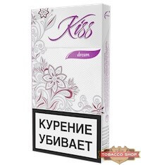 Пачка сигарет Kiss Dream