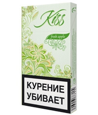 Пачка сигарет Kiss Fresh Apple