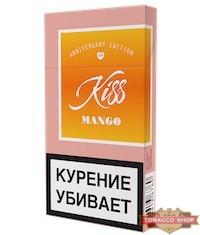 Пачка сигарет Kiss Mango