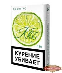 Пачка сигарет Kiss Mohito
