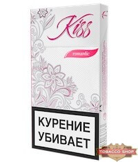 Пачка сигарет Kiss Romantic