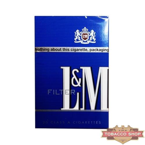 Пачка сигарет L&M Blue USA