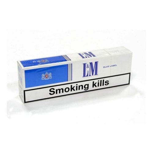 Блок сигарет L&M Blue (50 пачек) Duty Free