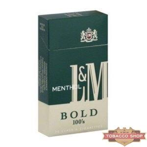Пачка сигарет L&M Menthol 100's USA