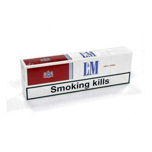 Блок сигарет L&M Red (50 пачек) Duty Free