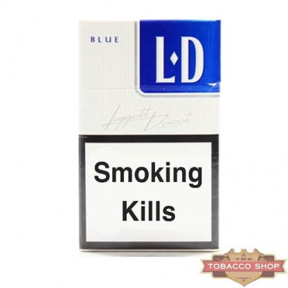 Пачка сигарет LD Blue Duty Free
