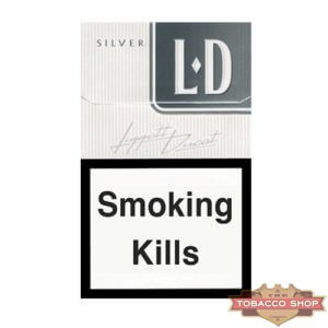 Пачка сигарет LD Silver Duty Free