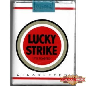 Пачка сигарет Lucky Strike Non-Filter Soft USA