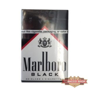 Пачка сигарет Marlboro Black USA