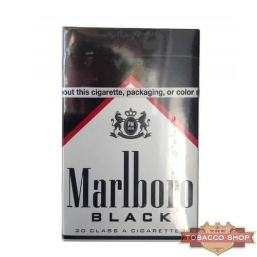 Пачка сигарет Marlboro Black USA