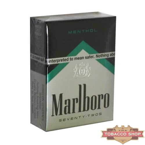 Пачка сигарет Marlboro Menthol Black 72's USA