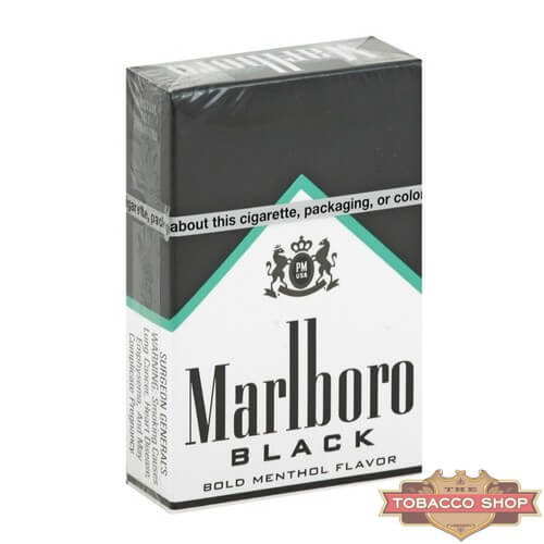Пачка сигарет Marlboro Menthol Black USA
