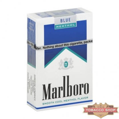Пачка сигарет Marlboro Menthol Blue USA