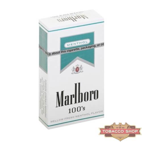 Пачка сигарет Marlboro Menthol Silver 100's USA