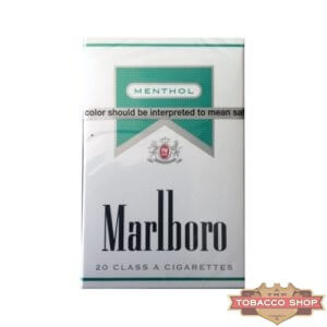 Пачка сигарет Marlboro Menthol Silver USA