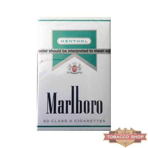 Пачка сигарет Marlboro Menthol Silver USA (1 пачка)