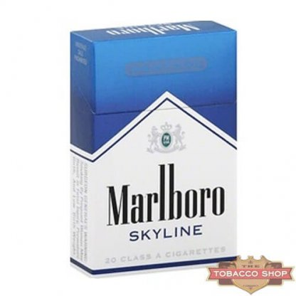 Пачка сигарет Marlboro Menthol Skyline USA