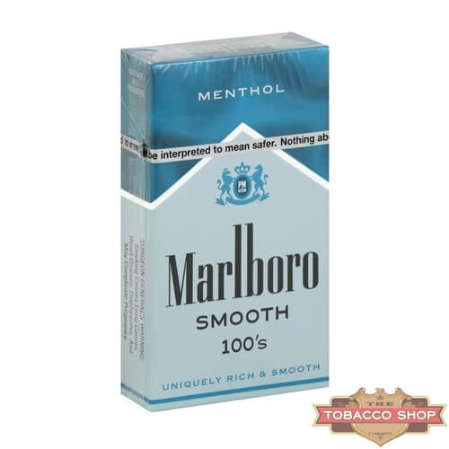 Пачка сигарет Marlboro Menthol Smooth 100's USA