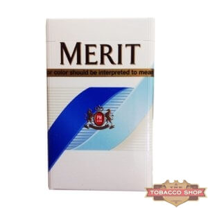 Пачка сигарет Merit Blue USA