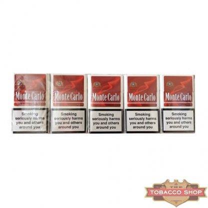 Блок сигарет Monte Carlo Red (50 пачек) Duty Free