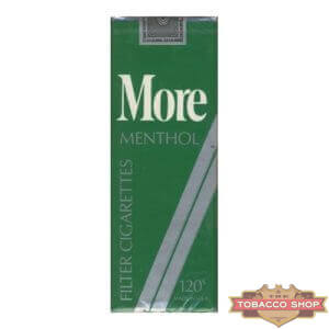 Пачка сигарет More Menthol 120's Soft USA