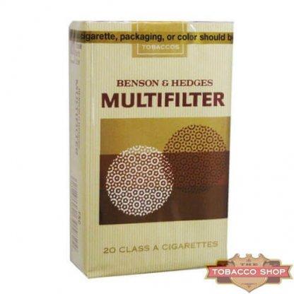 Пачка сигарет Multifilter (Benson & Hedges) Soft USA